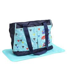 Mickey Mouse And Friends Diaper Bag - Blue