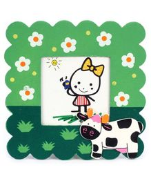 Fab N Funky Photo Frame - Cow Motif