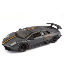 Bburago Murcielago LP 670-4 SV Die Cast Car - Grey