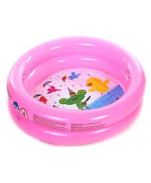 Bestway Round Shaped 2 Rings Kiddie Pool - Pink