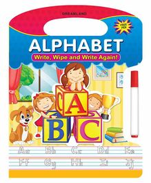 Write Wipe And Write Again Alphabets - English