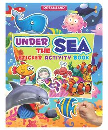 Sticker Activity Book Under The Sea - English