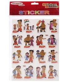 Chhota Bheem A4 Foam Sticker