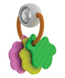 Giggles Tree Teether Rattle - Multi Color