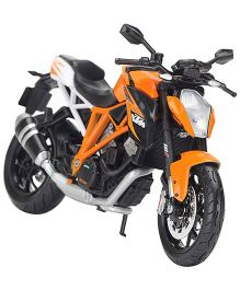 Maisto KTM 1290 Super Duke R Motorcycles - Orange And Black