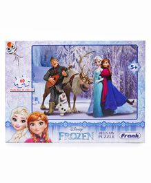 Frank Disney Frozen Jigsaw Puzzle - 60 pieces