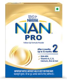 Nestle Nan Pro Stage 2 Follow-up Formula Powder - 400 g