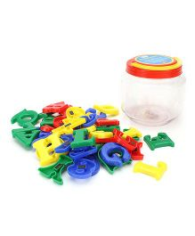 Avis Magnetic Alphabets & Numbers Jar - Set of 50