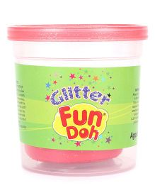 Fun Dough Funskool Glitter Fun Doh Pack - Fuchsia