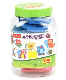 Fun Dough Funskool Activity Kit - Multi Color