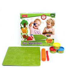 Fun Dough Funskool Fun Mat And Doh Set