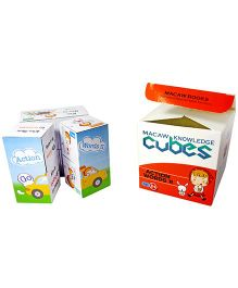 Macaw Grammar Cubes - Action Words II