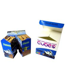 Macaw Early Learning Cubes - Famous Places