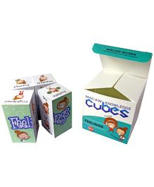 Macaw Early Learning Cubes - Feelings