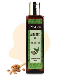 Inatur Sweet Almond Oil - 200 ml