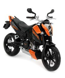 Maisto Motorcycle KTM Duke 690 Model - Orange And Black