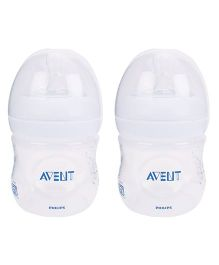 Avent Natural Polypropylene Baby Bottle Pack Of 2 - 125 ml