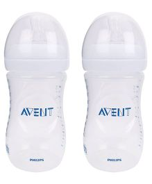 Avent Natural Polypropylene Baby Bottle Pack Of 2 - 260 ml