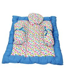 Morisons Baby Dreams Bed Elephant Theme - Blue