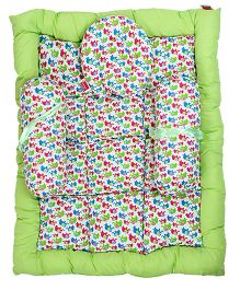 Morisons Baby Dreams Bed Elephant Theme - Green