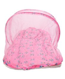 Morisons Baby Dreams Mosquito Net Bed Bee Theme - Pink