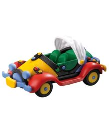 Mic O Mic Ragtop Plastic Toy Car - Multi Color