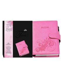 Tiara Diaries Pregnancy and Baby Journal Mom Diaries Pink