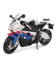 Maisto Die Cast BMW S 1000 RR Motorcycle - White