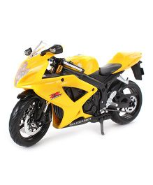 Maisto Die Cast Suzuki CSX R600 Bike - Yellow