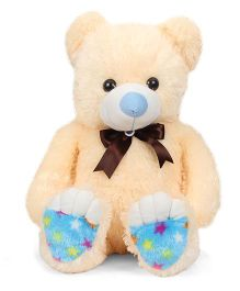 Liviya Sitting Teddy Bear Soft Toy Cream - 82 cm