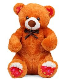 Liviya Master Bear Soft Toy Orangish Brown - 77 cm