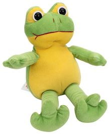 Playtoons Frog Soft Toy  (Color May Vary) - Height 25 cm