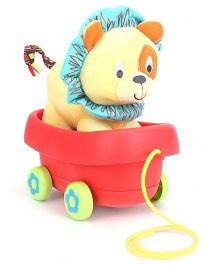 Little Pals Caesar the Lion Pull Along Toy - Multicolour