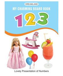 My Charming Board Book 123 - English