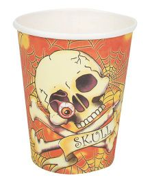 Riethmuller Party Cups Skull Print - 8 Pieces