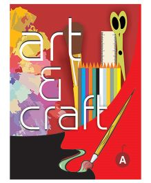 Art And Craft Book A - English