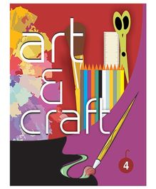 Art And Craft Book 4 - English