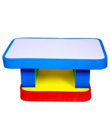 Cutez Acrylic Top Writing Table - Blue
