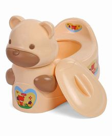 Babyhug Teddy Potty Seat - Brown