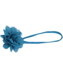 Pikaboo Small Flower Headband - Blue