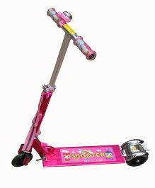 Adraxx Power Suspension Scooter - Pink