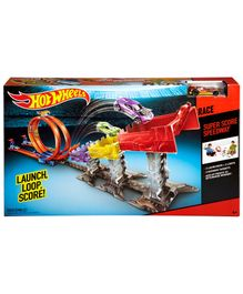 Hotwheels Super Score Speedway Track Set - Multicolor