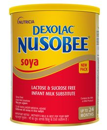 Nusobee Soya Infant Formula - 400 gm