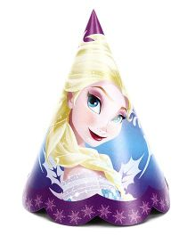 Disney Frozen Paper Cap Pack Of 10 - Blue & Purple