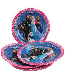 Disney Frozen Paper Plate Multi Color - Diameter 8.6 Inches