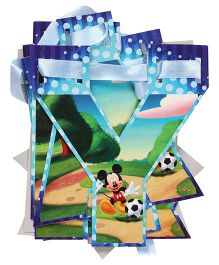 Disney Mickey Mouse And Friends Happy Birthday Die Cut Banner - Multi Color