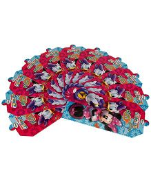 Disney Minnie Mouse Club House Invitation Card Pack Of 10 - Red