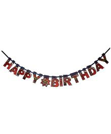 Avengers Happy Birthday Die-Cut Banner - Multi Color