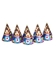 Dora Paper Cap Pack Of 10 - Multi Color