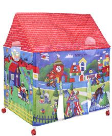 Kids Zone Play Tent House - Multicolor